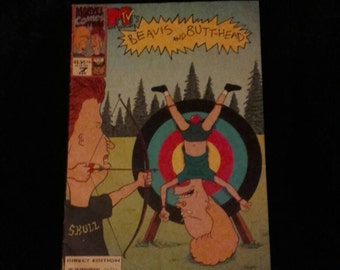 Beavis and Butthead comic book