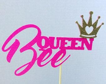 Queen Bee Cake Topper