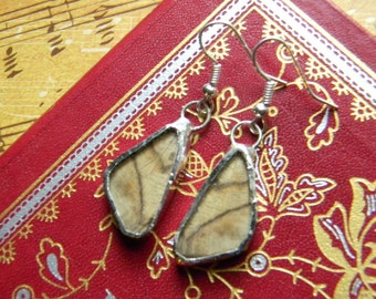 moth wing earrings