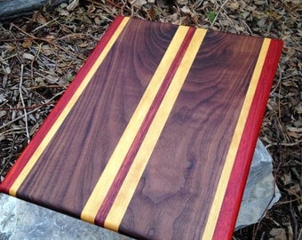 Ready to SHIP!! FREE SHIPPING!!!! Handmade Large Exotic Wood Cutting Board