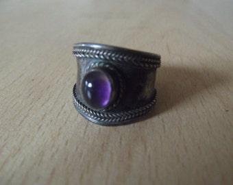 vintage mock Roman ring