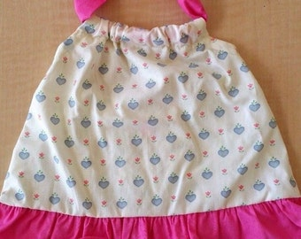 Hearts Handmade Dress Size 12 Months