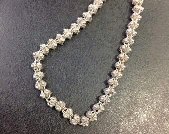 Sterling silver bracelet , Indian