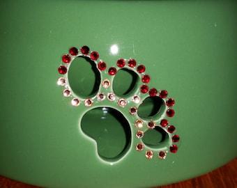 Sparkle Accent Ceramic Pet Dishes