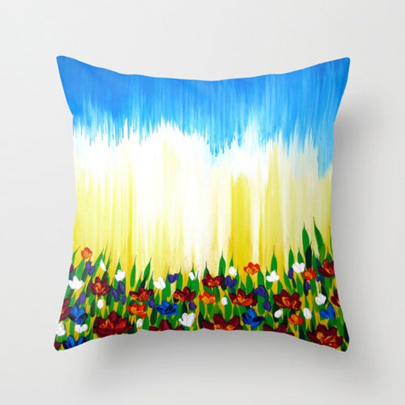 throw pillows with bright colors happy decor bright throw