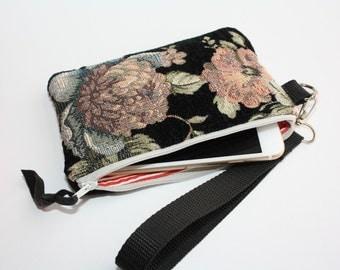 Tapestry Floral Mini Clutch tas portemonnee