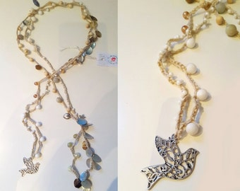 Extra hook long necklace