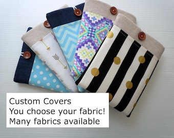 Kindle paperwhite case, Kindle paperwhite cover, Kindle, Kindle Oasis, Kindle Voyage, CHOOSE FABRIC, custom cover