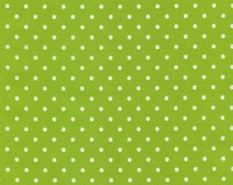 Timeless Treasures Dot - Lime - Fabric by the yard