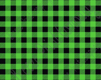 Green buffalo plaid decal vinyl sheet 12x12 adhesive vinyl sheet DV1808