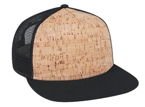 5 Panel Cork Front Hat Trucker Hat Mesh Hat Snap Back Newest