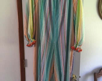 Vintage Hand Sewn Clown Costume