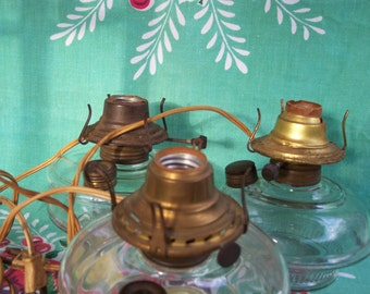 Oil Lamps - Electric