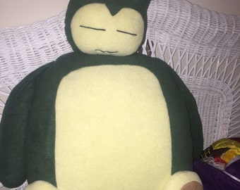 Snorlax Pillow