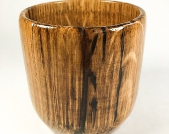 Wood Turned Black Locust 8oz Tumbler