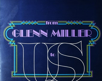 Vinyl Jazz Album -The John Austin Big Band - - From Glenn Miller To Us To You - Sentinel Records - Newlyn - Penzance Cornwall UK 1970s