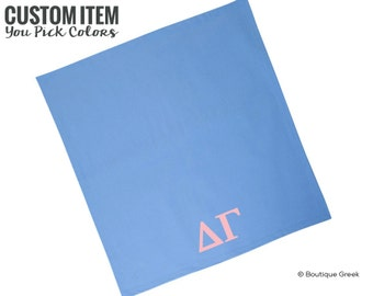 DG Delta Gamma Sorority Custom Blanket
