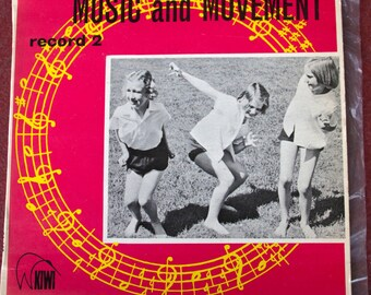 Music and Movement. Record 2. Record LP