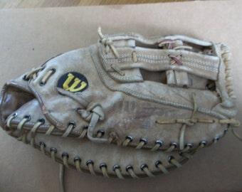Wilson leather baseball / softball glove