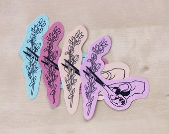Illustrative Sticker//Snip