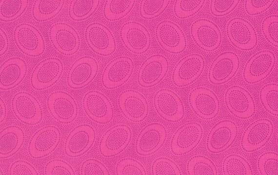 ABORIGINAL DOT SHOCK Pink  gp071 Kaffe Fassett Sold in 1/2 yd increments