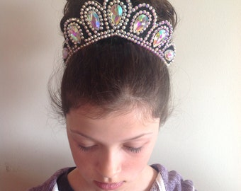 Irish dancing flexi hair band