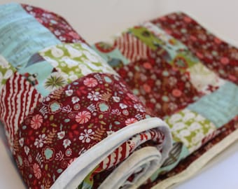 Holiday Patchwork Quilt