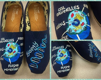Custom made Biology Toms. Designed and personalized just for you!