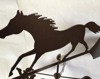 Metal Horse Wind Vane, Garden Decor, Garden Art,