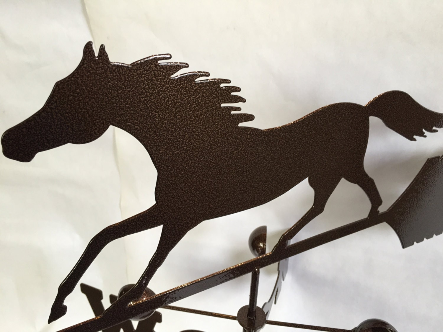 Metal Horse Wind Vane Garden Decor Garden Art