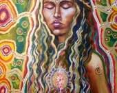 Sistar Meditation Signed Print