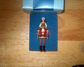 Vintage Avon Toy Soldier  Tack Pin, Moveable Arms & Legs, Was 20.00 - 25% =15.00