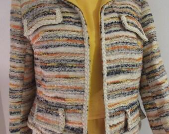 "ADORABLE Vintage 1960's 'Jancourt' Matching Dress & Jacket - Chest 36"""