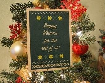 Happy Festivus Card