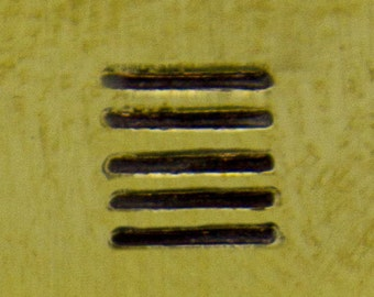 Native American Design Stamp- Parallel Lines, Long (PN5006)