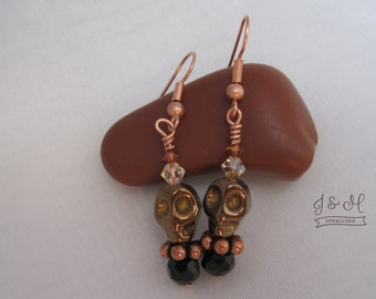 Earrings--Skellies!