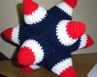 Crochet Spiked Ball