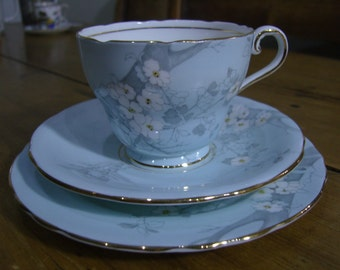Aynsley China Cup, Saucer and Plate Trio