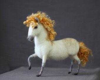 Needle felted Fantasy Horse