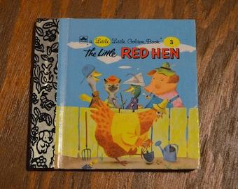 Little Little Golden Book, The Little Red Hen, No 3, Miniature Golden Book