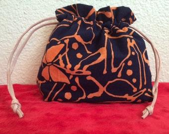 Japanese Orange Butterfly Bag
