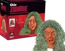 Now On Sale CHIA PET ZOMBIE Lifeless Lisa Head The Walking Dead Z Nation No Mercy Gothic Steampunk Horror