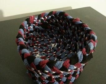 Upcycled Fabric Baskets