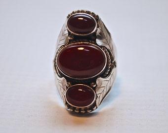 Tibetan Cornelian Ring #3802