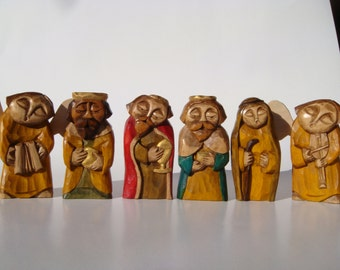 Figures Three Kings with procession
