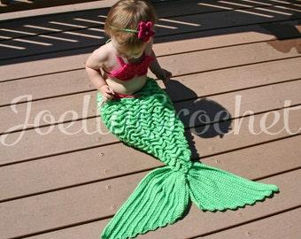 Baby Mermaid Photo Prop Baby Girl Prop Baby Mermaid Mermaid Costume Ocean Theme Little Girls Baby Girl Mermaid JoellaCrochet