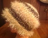 Thick Warm Crochet BoHo Ski Hat