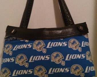 Detroit Loins skirt for Old Style Thirty-One skirt purse