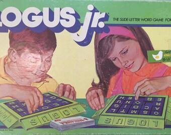 1971 Ideal LOGUS JR. // Slide Letter Game