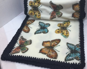 Beautiful Shawl/Wrap in Butterfly Print